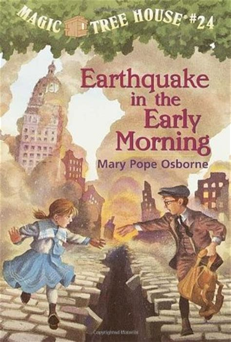 earthquake   early morning  mary pope osborne