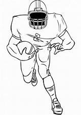 Football Coloring Tulamama sketch template