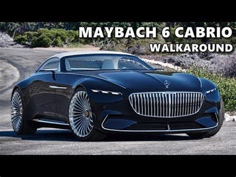 mercedes maybach  cabriolet driving exterior interior