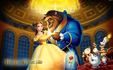 Beauty And The Beast Disney Princess Wallpaper For Tablet