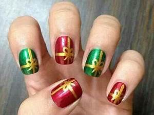 18 Christmas Present Nail Art Designs & Ideas 2016