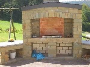 Prix D Un Barbecue : barbecue en pierre jardin ~ Premium-room.com Idées de Décoration