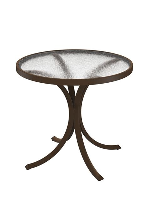 round plexiglass table top dining table 30 quot round with acrylic top hauser 39 s patio