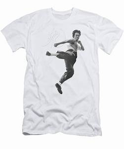 Bruce Lee - Flying Kick T-Shirt for Sale by Brand A