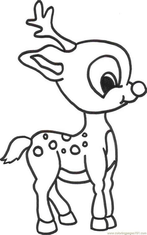 Coloring Deer by Baby Deer Coloring Page Free Deer Coloring Pages