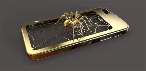 iPhone 5 Spider case 3D Model 3D printable .wrl .wrz