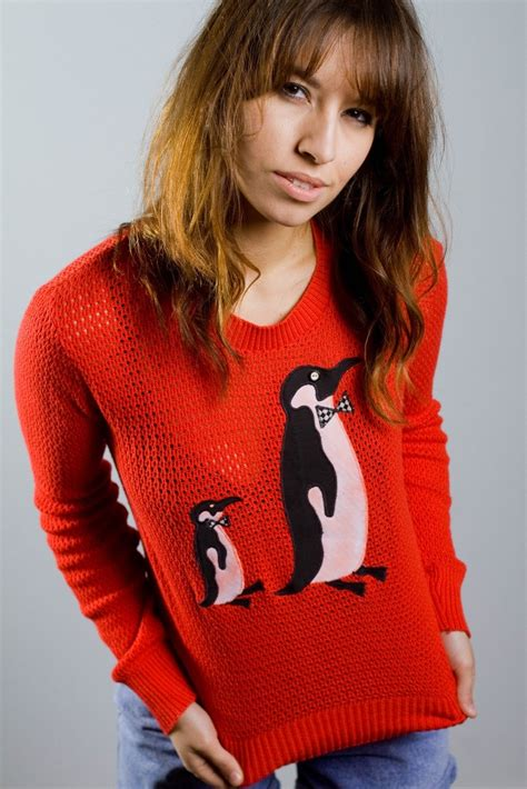 penguin sweater penguins and sweaters on
