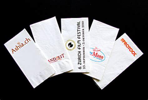 bedruckte servietten papierservietten besteckfalz papier