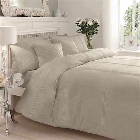 percale duvet cover modern pintuck stripe duvet cover soft percale cotton