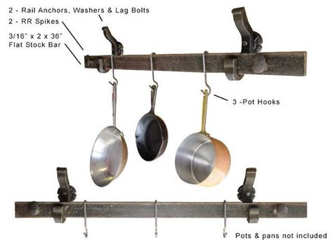 Kitchen Pot Hanging Rail by 60 Best Pot Hanger Images On Pot Hanger Jars