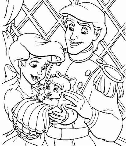 Princess Princesses Disney Coloring Princes Activity Support