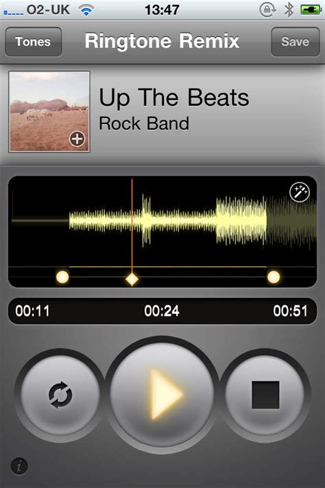 make your own ringtones on your iphone with ringtone remix