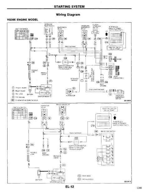 1994 Nissan Wiring Diagram by I Been A Problem With My 1994 Nissan