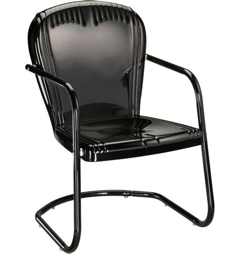 black metal outdoor chair gardens