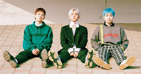 exo cbx blooming day exo cbx photos teasers de groupe pour 171 blooming days