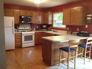 best kitchen paint colors with oak cabinets my kitchen With kitchen color ideas with wood cabinets