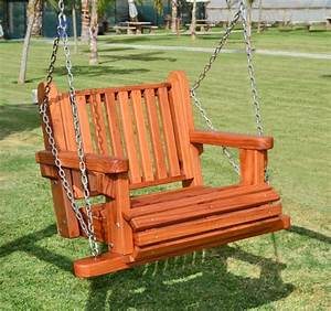 Hanging Garden Chairs Wooden Swing Seats Garden Furniture ...