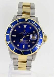 Rolex Uhr Herren Gold : rolex submariner herren uhr diamanten stahl gold papiere ebay ~ Frokenaadalensverden.com Haus und Dekorationen
