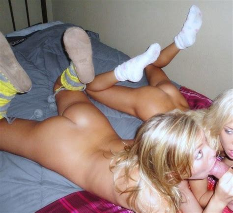 Hot Blonde Teen Step Sister
