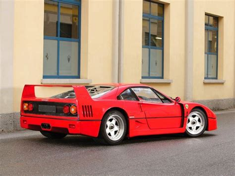A very fast berlinetta designed by pininfarina, it was built mainly from composites. Say A Prayer For The Charred Remains Of This Ferrari F40 Prototype   Top Speed