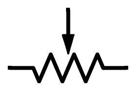 Components Potentiometer Varistor Electrical