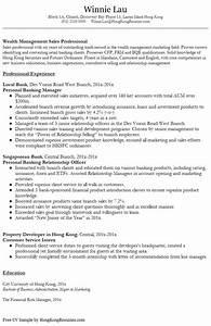Resume Format Resume Templates Hong Kong