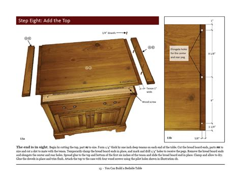 tips woodworking plans share woodworking plans bedside table