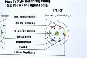 Heavy Duty 7 Pin Trailer Wiring Diagrams 3484 Julialik Es