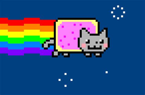Nyan Cat Drawing By Dragonollie15 On Deviantart