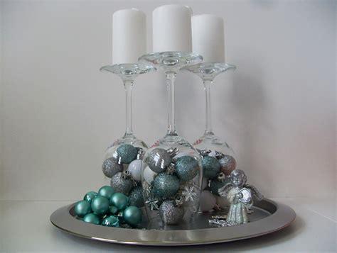 Weihnachtsdeko Mit Weingläsern by Weinglas Deko Tischdekoration Zu Ostern Lebensstil