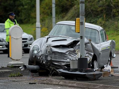 Martin Crash by Get Ready To Cry Aston Martin Db5 Crashed Dpccars