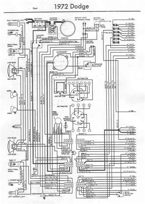 1969 Dodge Dart Wiring Diagram by 72 Swing Horn Ingniton Wiring Problem Moparts