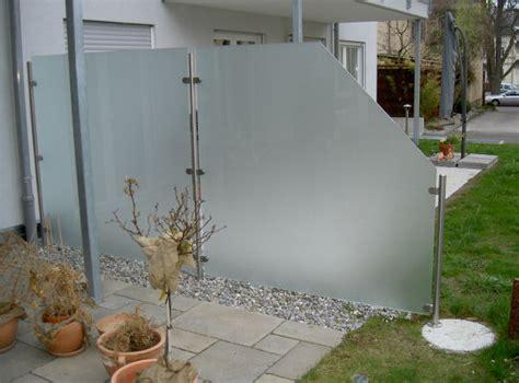 balkon sichtschutz nach maãÿ glas windschutz nach maß megaglas