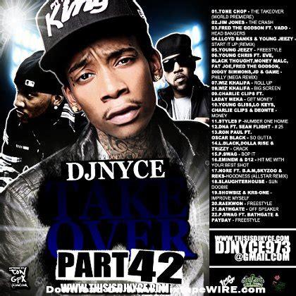 dj nyce the takeover vol 42 mixtape mixtape