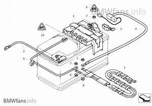 Batteriekabel  Stromverteiler Hinten