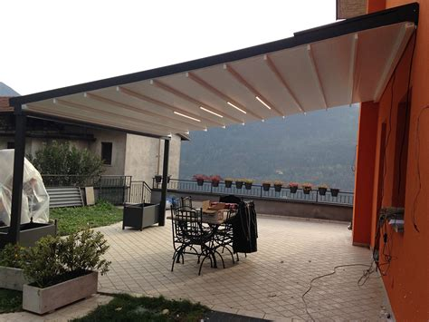 pergole in alluminio per terrazzi pergolati in alluminio tendasol