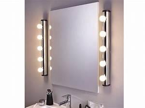 awesome miroir chambre de bain ideas seiunkelus With miroir salle de bain lumineux 140