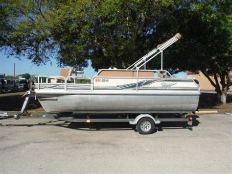 Used Voyager Pontoon Boats For Sale by Voyager Marine Boats For Sale
