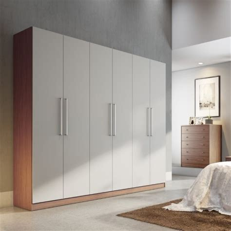 manhattan comfort eldridge 2 0 91 quot 3 sectional wardrobe