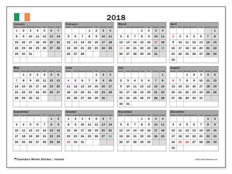 calendar ireland michel zbinden en