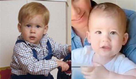 Prince harry, duke of sussex, kcvo, adc (henry charles albert david; Wow, Archie Looks Exactly Like Baby Prince Harry | Glamour