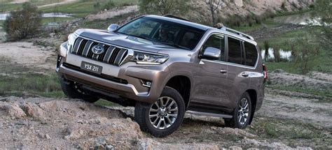 toyota landcruiser prado  review price features