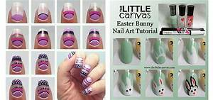 Easy step by easter nail art tutorials for