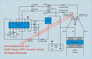 Inverter Circuit Diagram  U00bb Research Cell
