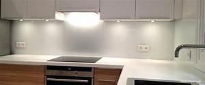 Crédence Cuisine En Verre : cr dence cuisine en verre blanc id e pour cuisine ~ Nature-et-papiers.com Idées de Décoration