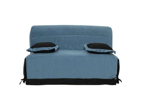 housse canapé bz conforama housse pour bz premium 160 cm coloris bleu canard