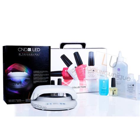 Cnd Shellac Led L Uk by Cnd Shellac Chic Collection Starter Pack Cnd Led L