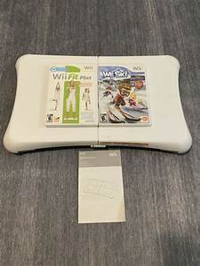 Wii Fit Nintendo Wii Balance Board And Game Lot Wii Fit