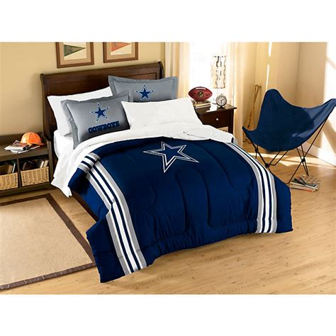 Dallas Cowboys Bedroom Decor by Dallas Cowboys Applique Comforter Bedding Set