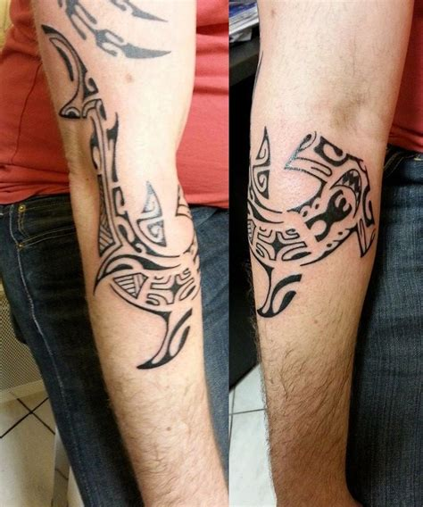 tatouage avant bras requin mod 232 les et exemples